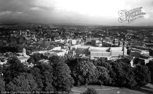 Bristol, From The Cabot Tower c.1960