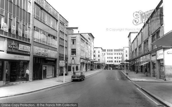 Photo of Bristol, Merchant Street c1965