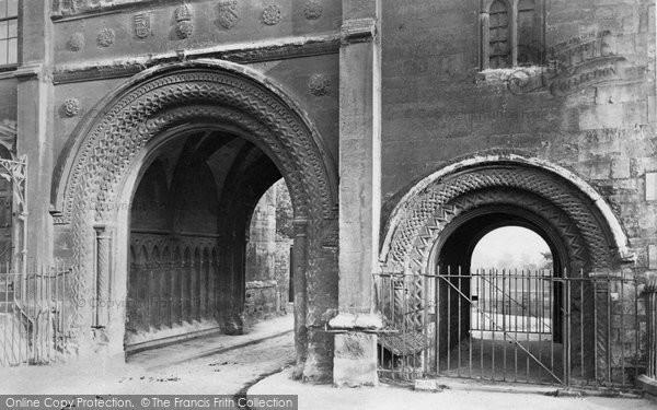 Bristol, Norman Arches c.1880