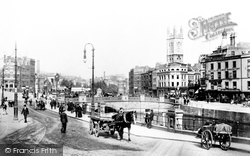 Bristol, St Augustine's Bridge 1901