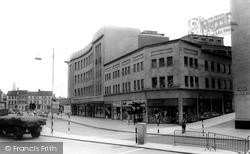 Bristol, St James Barton c.1960
