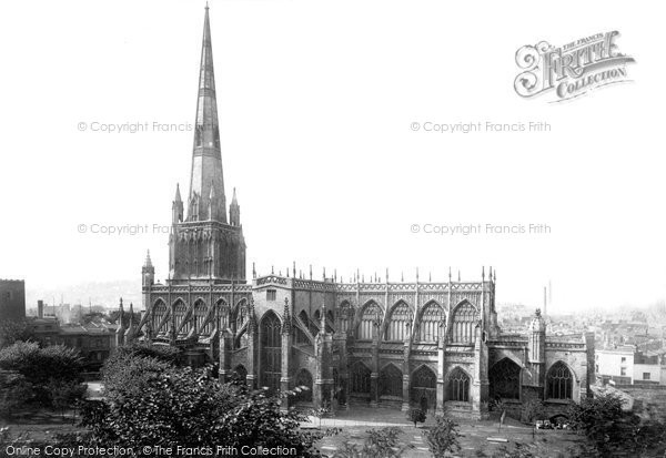 Photo of Bristol, St Mary Redcliffe 1887