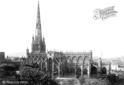 Bristol, St Mary Redcliffe 1887