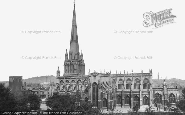 Bristol, St Mary Redcliffe c.1900