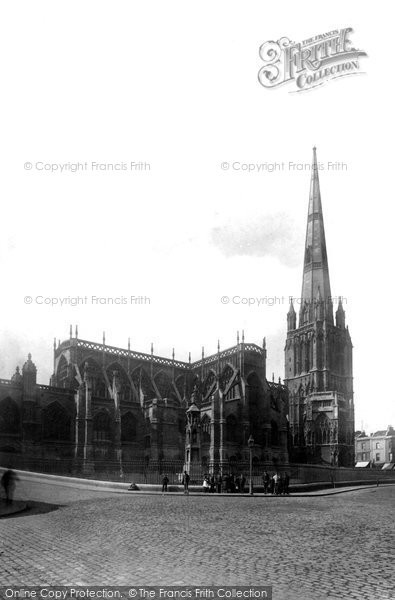 Bristol, St Mary Redcliffe Church 1887