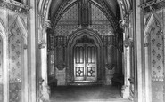 Bristol, St Mary Redcliffe, North Porch 1901