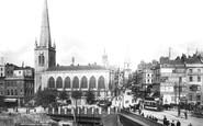 Bristol, the Bridge and the Church of St Nicholas 1901