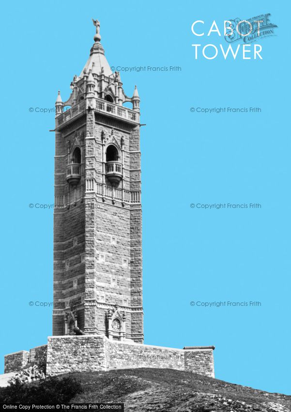 Bristol, the Cabot Tower 1900