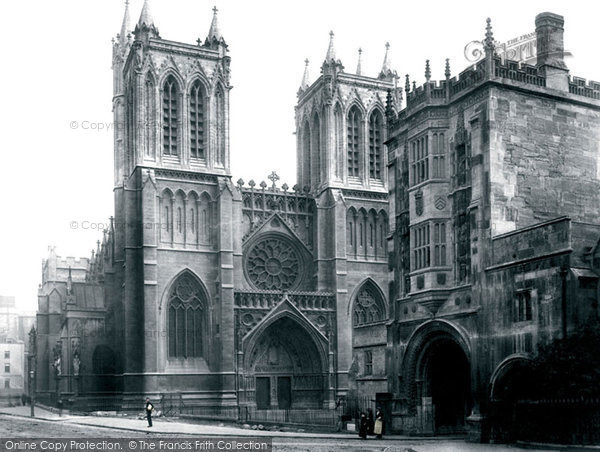 Bristol, The Cathedral 1890