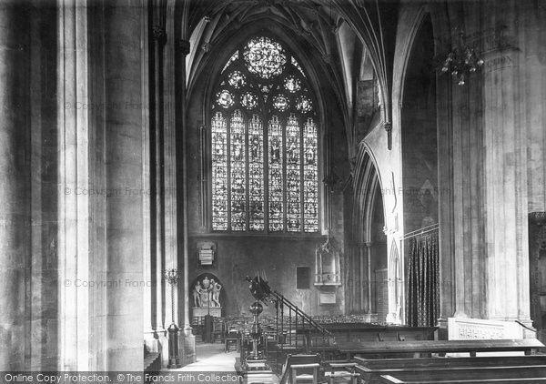 Bristol, The Cathedral, Lady Chapel 1896