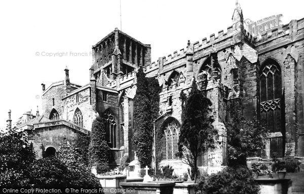 Bristol, The Cathedral, South Side 1887