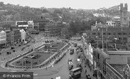 Bristol, The Centre 1953