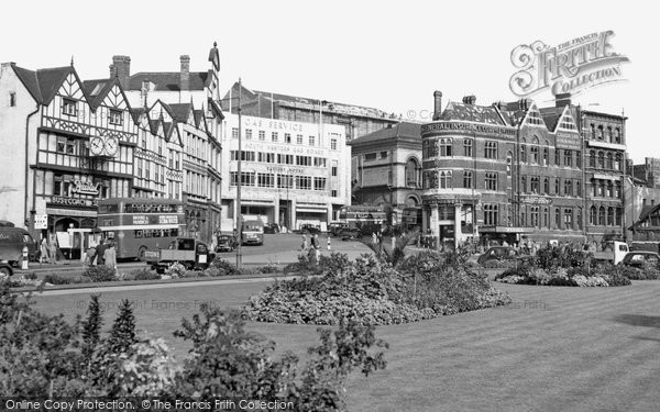Bristol, the Centre c1950