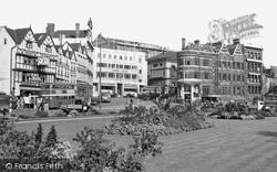Bristol, The Centre c.1950