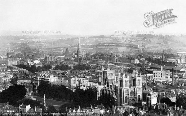 Bristol, The City And The Cathedral 1900