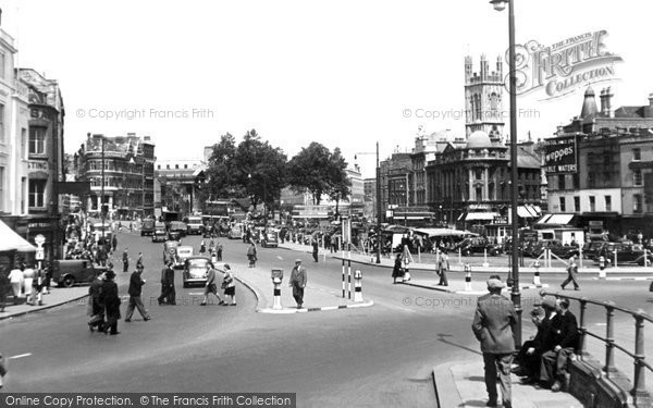 Bristol, The City Centre c.1948