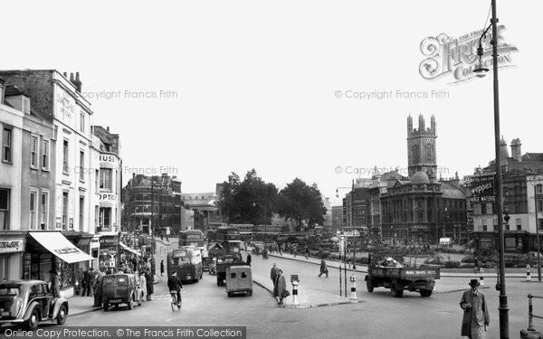 Bristol, The City Centre c.1950