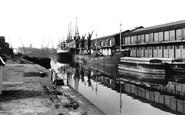 Bristol, the Docks 1960