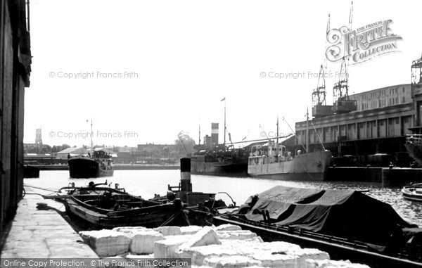 Photo of Bristol, the Docks c1950