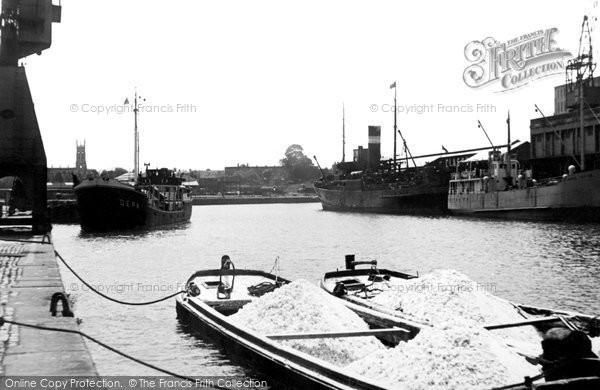 Bristol, The Docks c.1950
