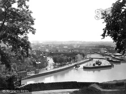 Bristol, The Entrance To The Floating Harbour c.1935