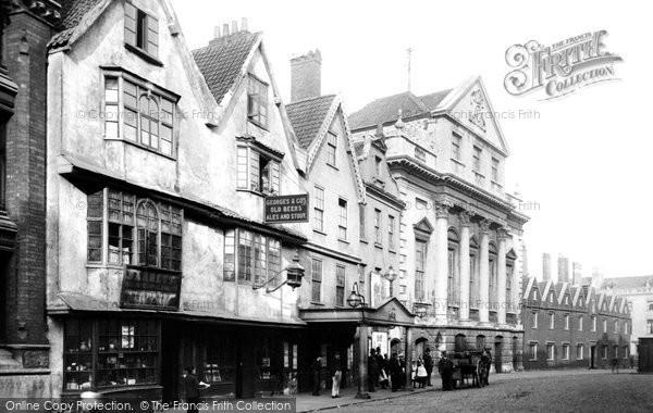 Bristol, The Theatre Royal 1890