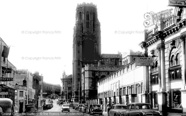 Photo of Bristol, University c1955