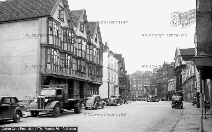 Photo of Bristol, Ye Llandoger Trow c.1950