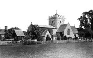 Britford, St Peter's Church 1906