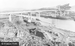 Briton Ferry, The New Bridge c.1960