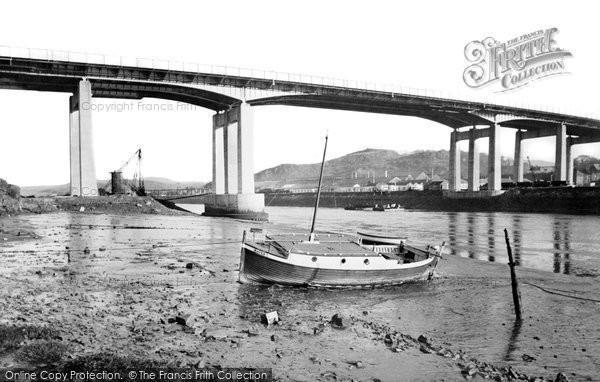Briton Ferry, The New Bridge c.1965