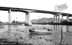 Briton Ferry, The New Bridge c.1965