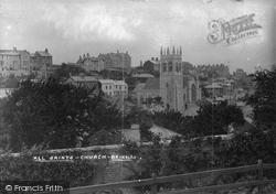 Brixham, All Saints Church 1906