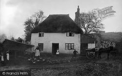 Brixham, Annie Tolcher's Cottage 1905
