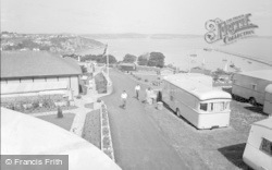 Brixham, Bay View Holiday Camp 1955