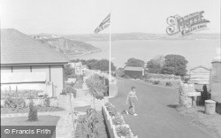 Brixham, Bay View Holiday Camp c.1955