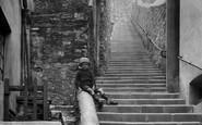 Brixham, Bay View Steps 1922