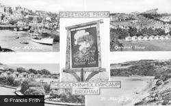 Brixham, Dolphin Holiday Camp Composite c.1950