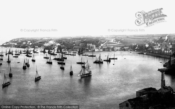 Brixham, Fishing Fleet 1896
