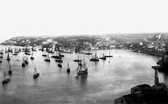 Brixham, Fishing Fleet 1896