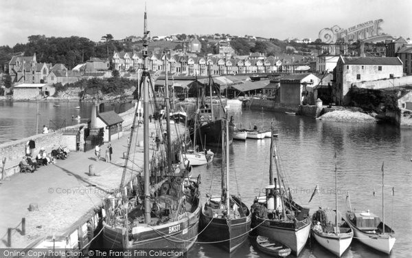Brixham, From Overgang c.1939