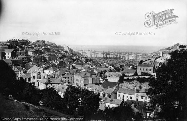 Brixham, General View 1889