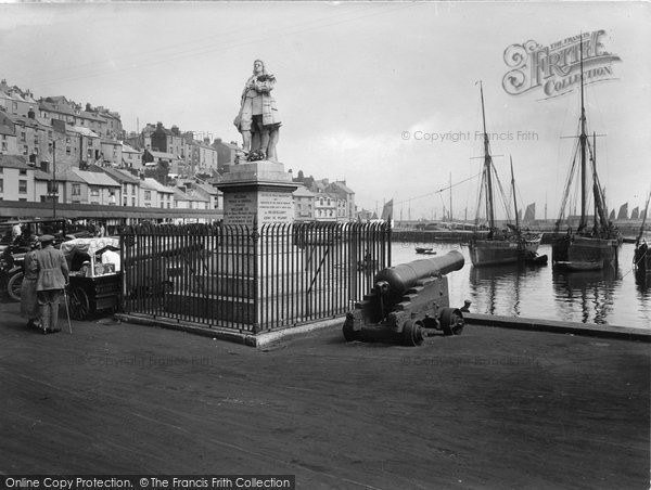 Brixham, Harbour And Boats 1925