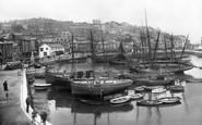 Brixham, Inner Harbour 1922