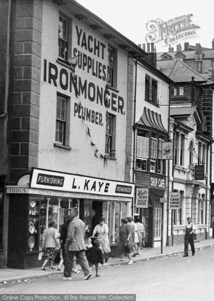 Brixham, Ironmonger, The Strand c.1950