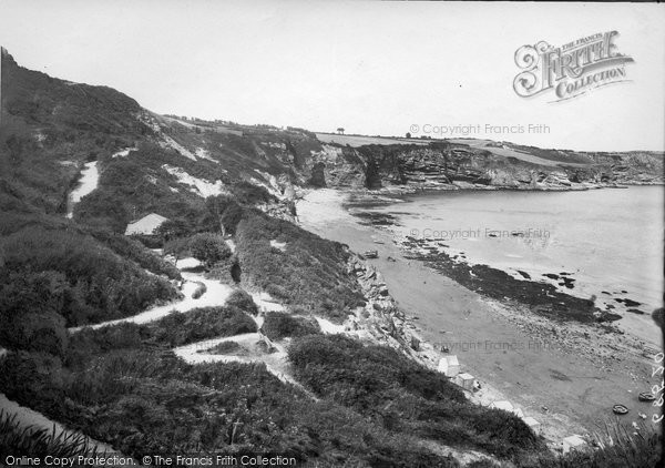 Brixham, Mudstone Beach And Serpentine Path 1918