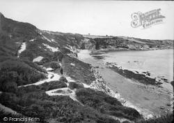 Brixham, Mudstone Beach And Serpentine Path 1918