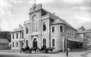 Brixham, New Fish Market 1889