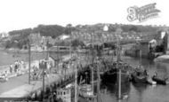Brixham, New Pier c.1955
