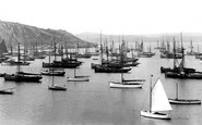 Brixham, Outer Harbour 1924